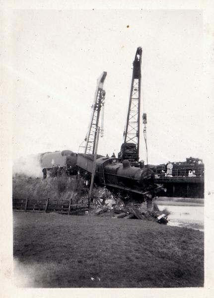 Turvey Train Crashes